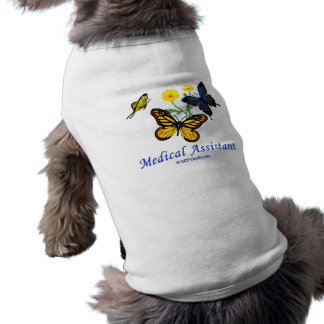 Medical Assistant Butterfly Pet Clothes