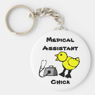 Medical Assistant Chick Keychain
