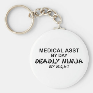 Medical Assistant Deadly Ninja Key Ring