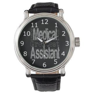 Medical Assistant Extraordinaire Wrist Watch