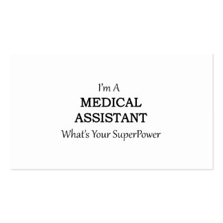 MEDICAL ASSISTANT PACK OF STANDARD BUSINESS CARDS