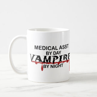Medical Assistant Vampire by Night Coffee Mug