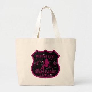 Medical Asst Diva League Jumbo Tote Bag