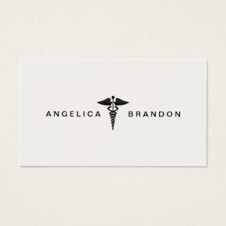 Medical Caduceus Business Card