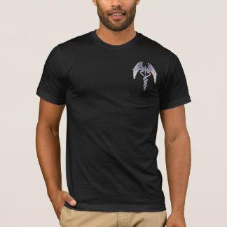 Medical Caduceus Winged Symbol Mens T-Shirt