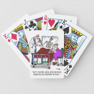 Medical Cartoon 9378 Poker Deck