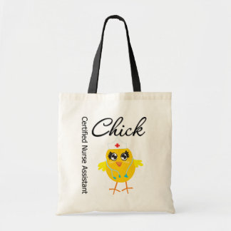 Medical Chick  v1 Certified Nurse Assistant Canvas Bags
