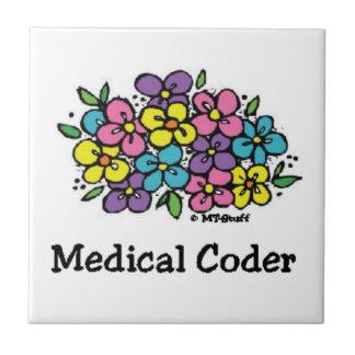 Medical Coder Coaster Blooms