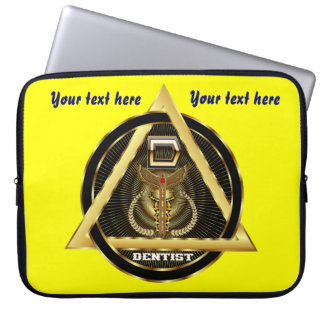 Medical Dentist Universal View Notes Important Laptop Computer Sleeves