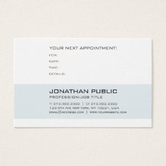 Medical Doctor Dental Dentist Appointment Reminder Business Card