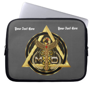 Medical Doctor Device Carry Case VIEW ABOUT design Laptop Sleeve