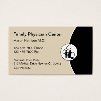 Medical Doctor Office Business Card