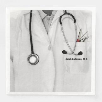 Medical Doctor Paper Serviettes