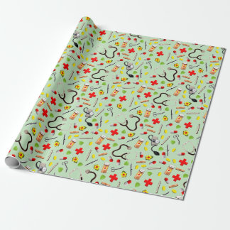 Medical Doctor Wrapping Paper