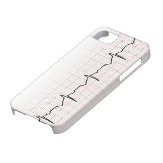 Medical EKG heart beating, for doctor or nurse iPhone 5 Cover