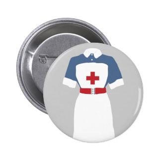 Medical Emergency Nursing Services Pinback Buttons