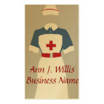 Medical & Emergency Nursing Services Business Card Template