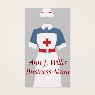 Medical & Emergency Nursing Services Business Card