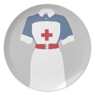 Medical & Emergency Nursing Services Dinner Plate