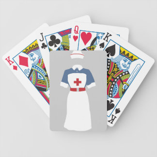 Medical & Emergency Nursing Services Bicycle Playing Cards