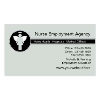 Medical Employment Agency Pack Of Standard Business Cards