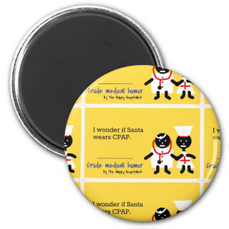 Medical Humor 6 Cm Round Magnet