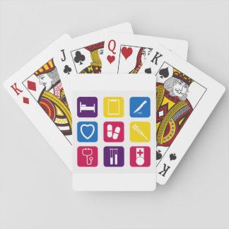 Medical Icons Playing Cards