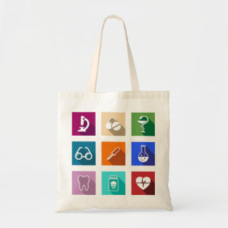 Medical Icons Tote Bag