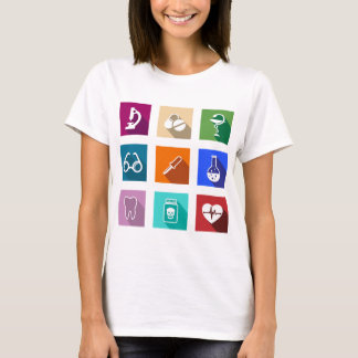 Medical Icons Womens T-Shirt