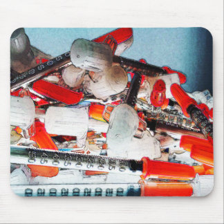 Medical Needles Mouse Pad