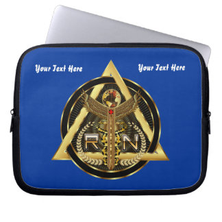 Medical Nurse Device Carry Case VIEW ABOUT design Laptop Sleeve