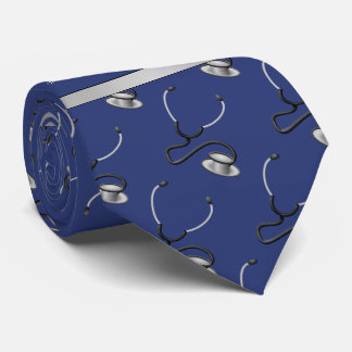 Medical, Nurse, Doctor themed stethoscopes, Name Tie