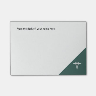 Medical Office Caduceus Symbol Post-it Notes