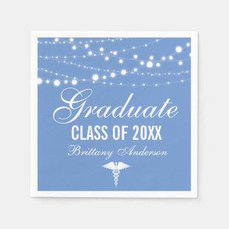 Medical or Nursing School Graduation Party Paper Napkins
