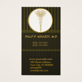 Medical Practice Doctor Appointment | Patterns Business Card