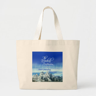 Medical Profession is an Adventure_Heartbeat Jumbo Tote Bag