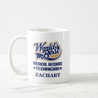 Medical Records Technician Personalized Mug Gift