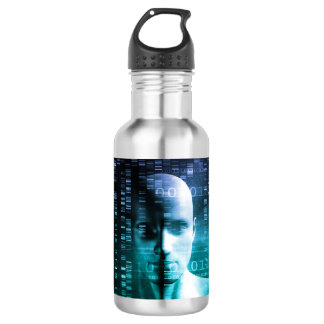 Medical Research in Genetics and DNA Science 532 Ml Water Bottle