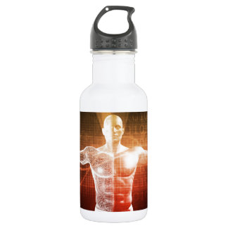 Medical Research on the Human Body as Concept 532 Ml Water Bottle