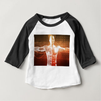 Medical Research on the Human Body as Concept Baby T-Shirt