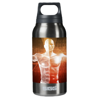 Medical Research on the Human Body as Concept Insulated Water Bottle