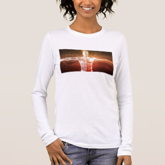 Medical Research on the Human Body as Concept Long Sleeve T-Shirt