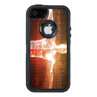 Medical Research on the Human Body as Concept OtterBox Defender iPhone Case
