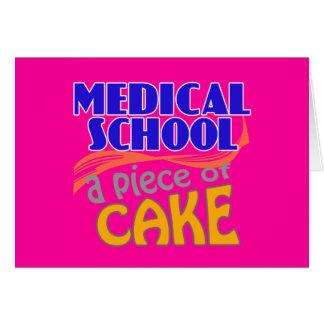 Medical School - Piece of Cake Card