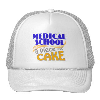 Medical School - Piece of Cake Hats