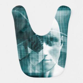 Medical Science Futuristic Technology as a Art Bib