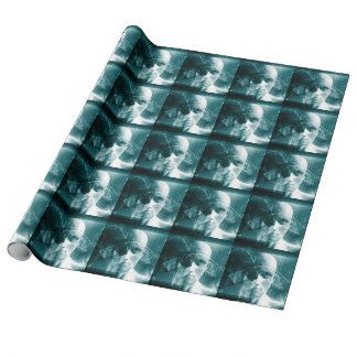 Medical Science Futuristic Technology as a Art Wrapping Paper