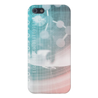 Medical Science of the Future with Molecule Backgr Case For The iPhone 5