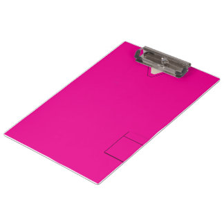 Medical Scrubs Nurse Doctor Hot Pink Clipboard
