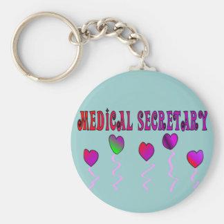 Medical Secretary Gifts Key Ring